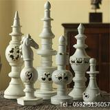 fiberglass chess set